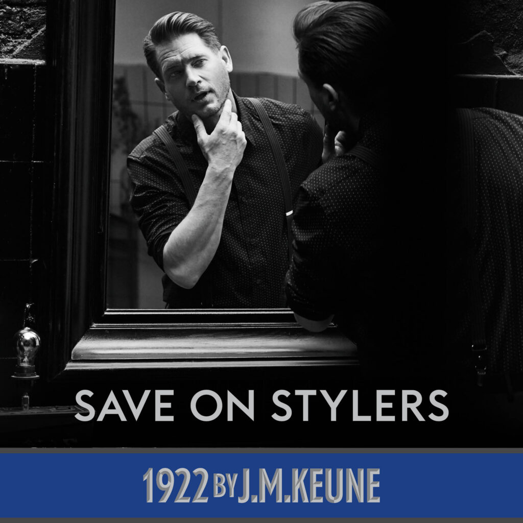 1922 By J.M. Keune – Save on Stylers – Social