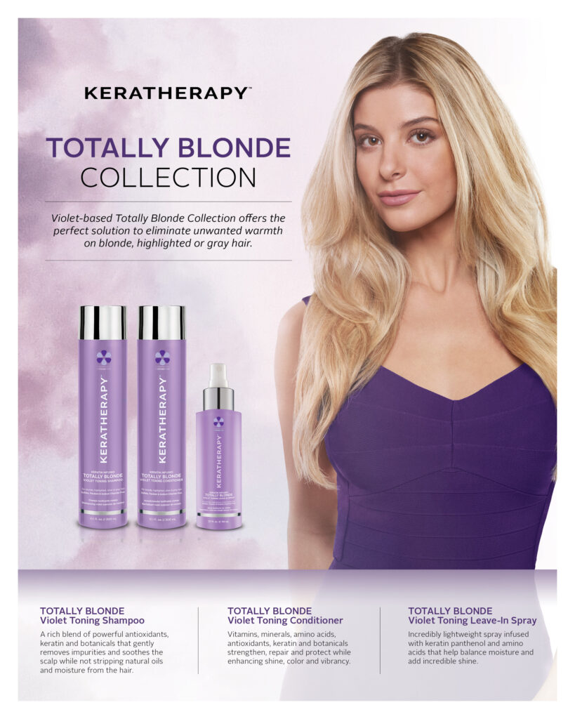 Keratherapy – Totally Blonde Collection – Print 8×10″