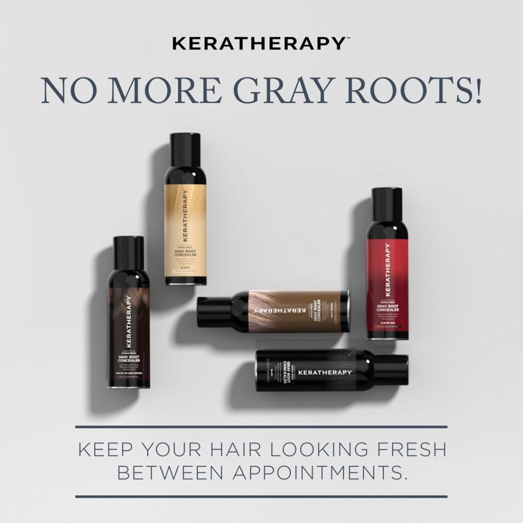 Keratherapy – Gray Root Concealer – Social