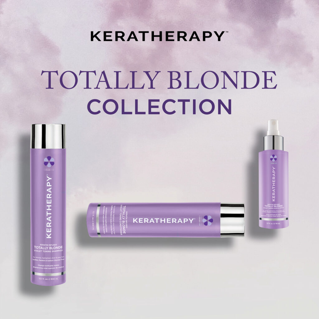 Keratherapy – Totally Blonde Collection – Social