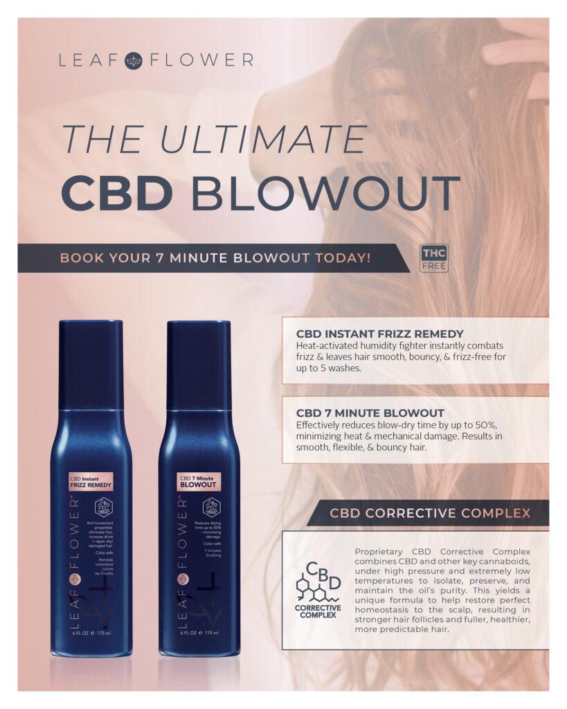 Leaf + Flower – The Ultimate CBD Blowout – Print 8×10″