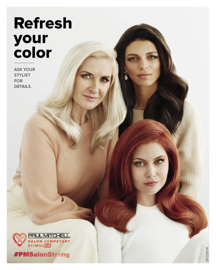Paul Mitchell – Professional Color – Print 8×10″