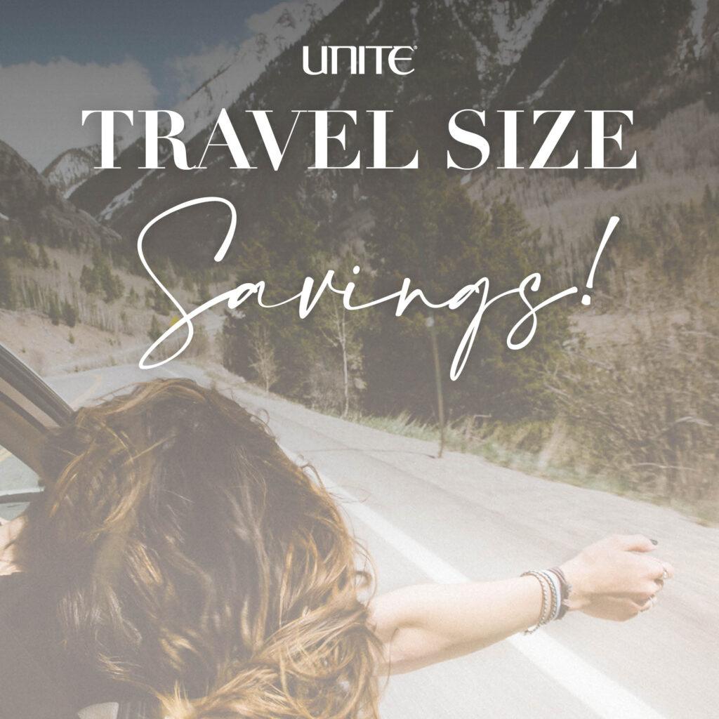 Unite – Travel Size Savings – Social