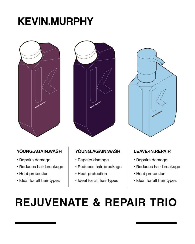 KEVIN.MURPHY – Rejuvenate & Repair Trio – Print 8×10″